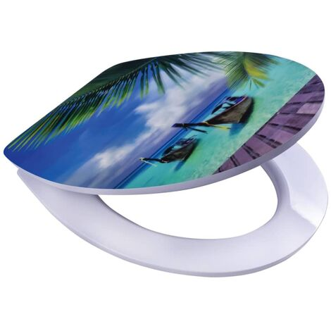 RIDDER Toilet Seat Paradise with Softclose