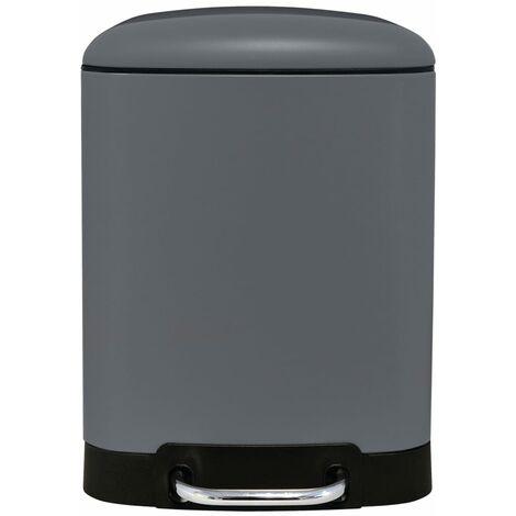 RIDDER Waste Basket Nala 6 L Grey - Grey