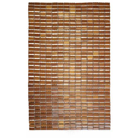 RIDDER Wooden Bathroom Rug Bamboo 90x60 cm