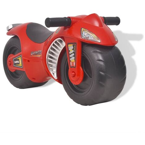 Ride-on Motorcycle Plastic Red - Red