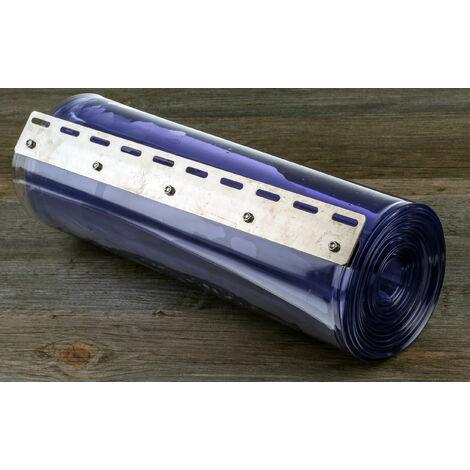 Rideau à lanières PVC en PVC sans cadmium, larg. 200mm x Long. 2m
