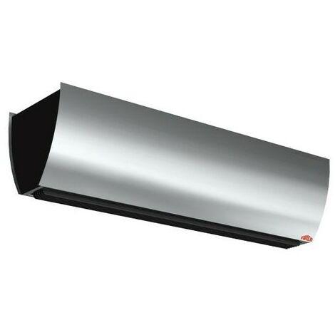 Rideau d'air chaud électrique pour entrées - 1900m³/h - 1.53m - Acier brossé
