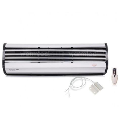 Rideau d'air chaud électrique WRMS06 - 6kW 90cm + détecteur porte ouverte