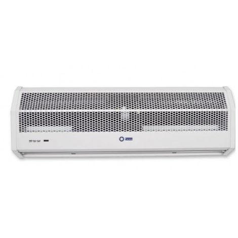Rideau d'air électrique 90 cm 230V 6 KW horizontal avec fonction de chauffage