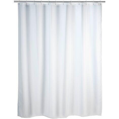 Rideau de douche blanc WENKO