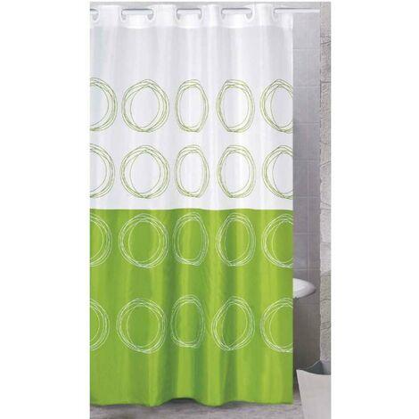 Rideau de douche polyester 180x200cm Saumon