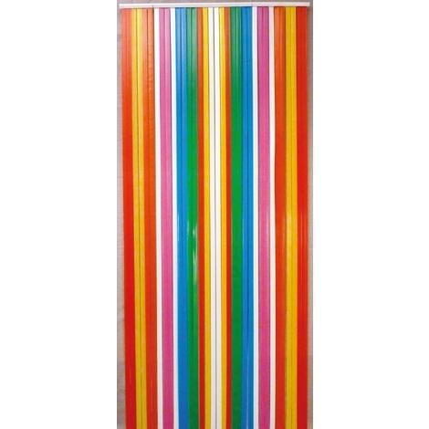Rideau de porte - Lanière Antilles Morel - 120 x 220 cm - Multicolore