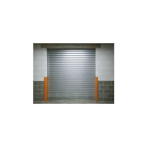 rideau metalique galvanisé motorisé L4mxH4m