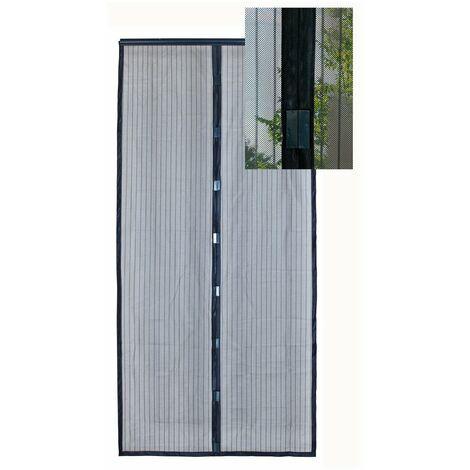 Rideau moustiquaire de porte aimanté moustimagnet 100 x 220