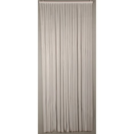 Rideau portière Lumina 90 x220 cm blanc