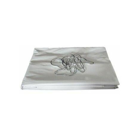 "main image of ""Rideau PVC ""Non feu"" : 1800x1200mm"""