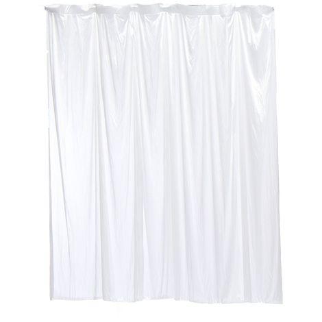 Rideau Scène Arrière-plan Tissu Toile de fond Blanc 2x2M Décor Mariage Party Sasicare