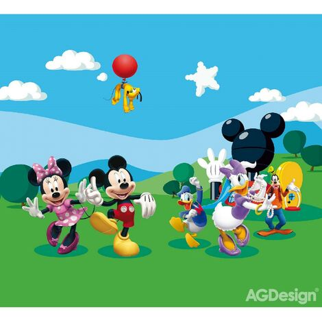 Rideaux La Maison de Mickey Disney-Voilage : 280x245 cm