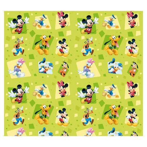 Rideaux Mickey et tous ses amis Disney-Voilage : 180x160 cm