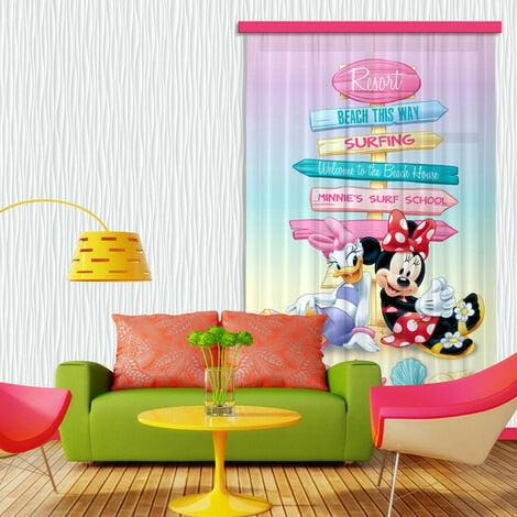 Rideaux Minnie & Daisy Disney-Voilage : 140x245 cm