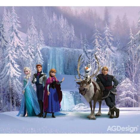 Rideaux Personnages La Reine des Neiges Disney-Voilage : 280x245 cm