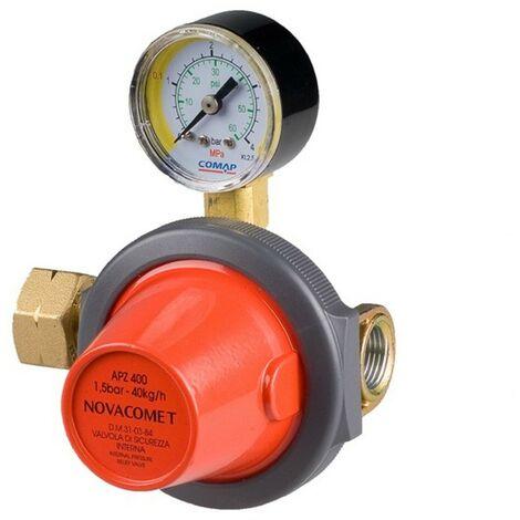 Riduttore alta pressione primo stadio serbatoio gpl Apz400 novacomet 40 kg