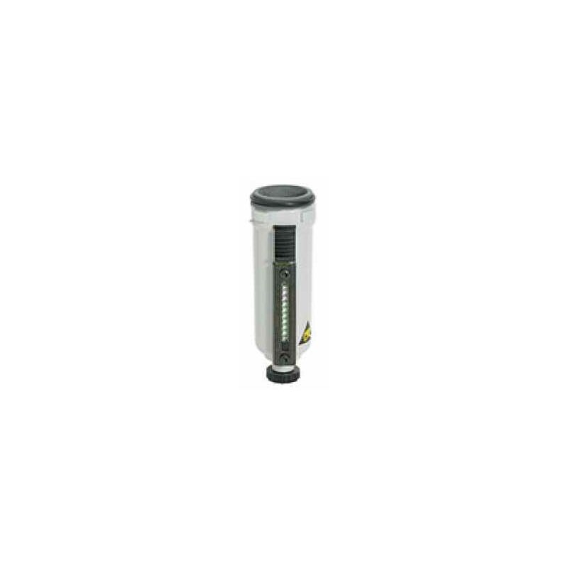 Image of Metallbehälter inkl. Sichtrohr, BG 1, G 1/4, G 3/8 - Riegler