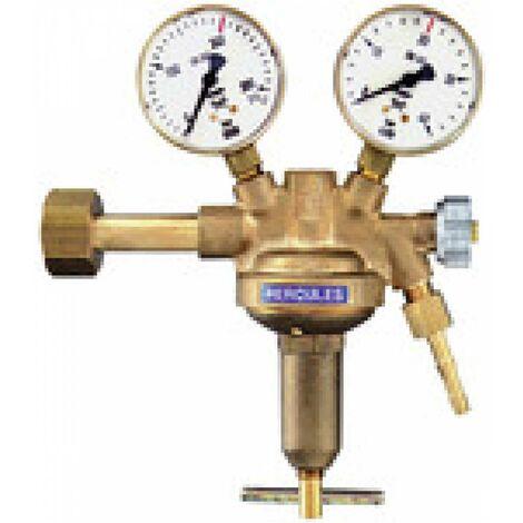 Riegler Flaschendruckregler, 200 bar, Argon/Helium, Arbeitsdruck 0-10 bar