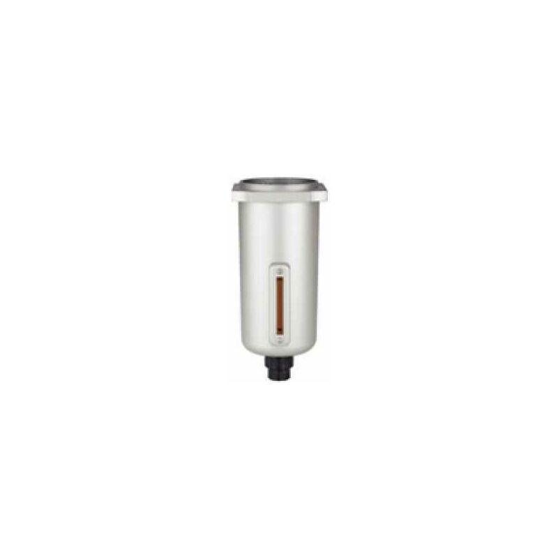 Image of Metallbehälter mit Sichtrohr und vollautomatischem Ablassventil - Riegler