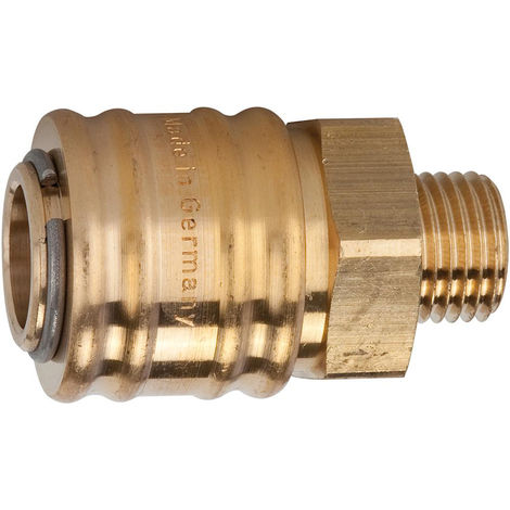 Riegler Schnellverschlusskupplung NW7,2 MS AG G1/2