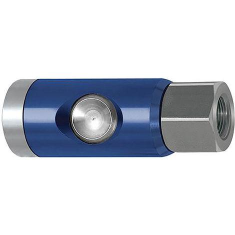 Riegler SicherheitsKupplung NW 7,4 Druckknopf G3/8in drehbar