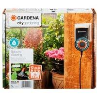Riego automático jardineras City Gardening Gardena