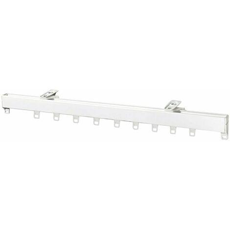 Riel Aluminio P950 Sin Cordon 2.0 Metros Blanco