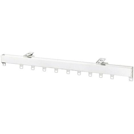 Riel Aluminio P950 Sin Cordon 3.0 Metros Blanco
