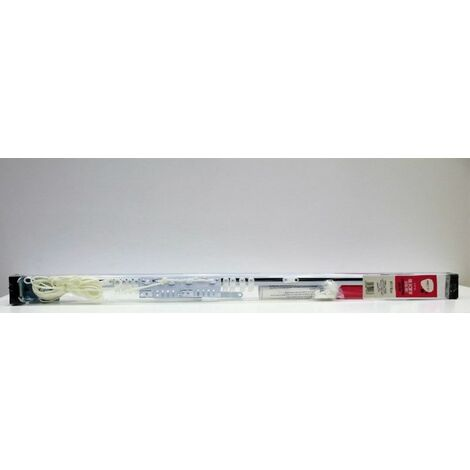 Riel Cortina 122/213cm Exten Vivah Met Bl Pared Vh112458