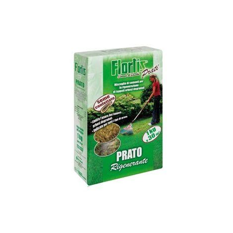 RIGENERANTE FLORTIS, per la rigenerazione di tappeti erbosi degradati - 1000 g
