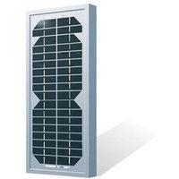 Rigid Monocrystalline Solar Panel 5W-12V