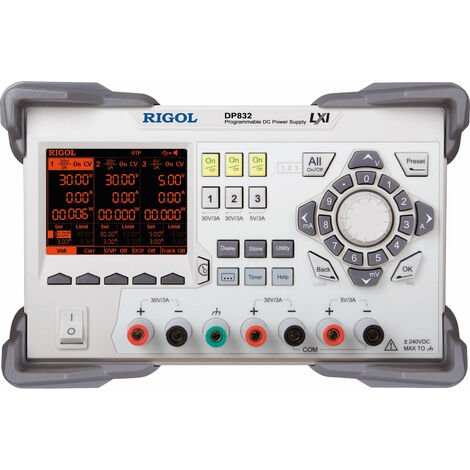 Rigol DP832 3 Output Variable Bench DC Power Supply