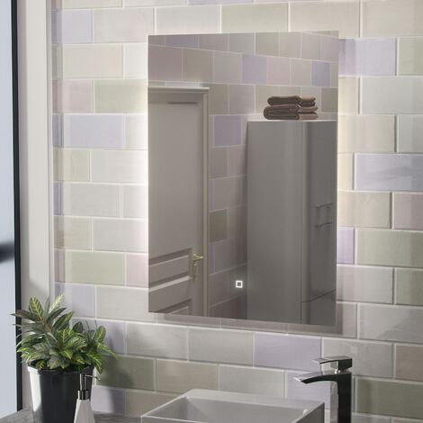 Riley Large Illuminated Back-lit Bathroom Mirror