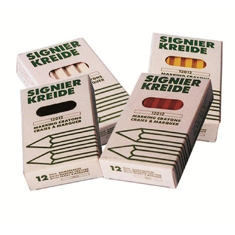 Rimag Ölsignierkreide, Signierkreide, Schweißer Ölkreide - 12 Stück - Ø 11 x 100 mm