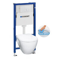 Rimless Geberit Pack Bati WC (39186rimless-GEB1)