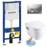 Rimless Geberit Pack Bati WC (39186rimless-GEB2)