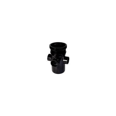 Ring Seal Soil Boss Pipe Single Socket - 110mm Black