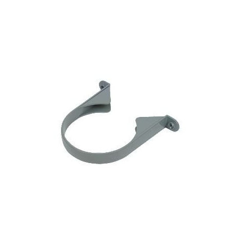 Ring Seal Soil Pipe Socket Clip - 110mm Grey