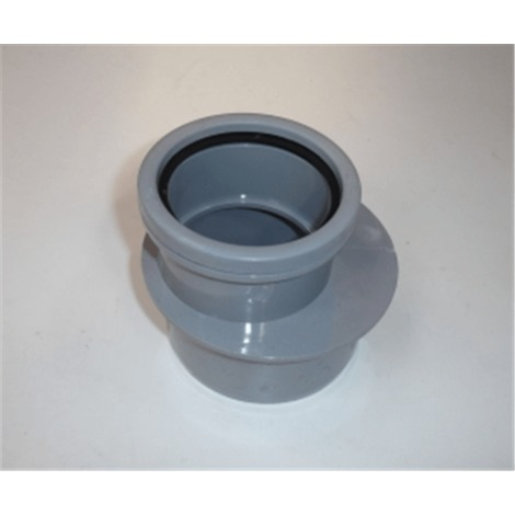 Ring Seal Soil Reducer - 110mm x 82mm Grey