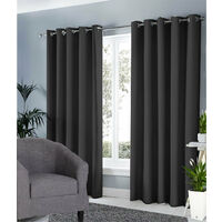 Ring Top Ready Made Blackout Curtains - 66X90 Inches - Various colours available
