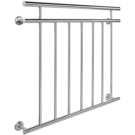 Ringhiera del balcone in acciaio inox 90 x 100 cm Balcone alla francese Ringhiera a sbarre