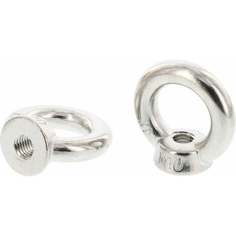 Ringmutter DIN 582 - Edelstahl A2 geschmiedet mit CE Kennzeichen