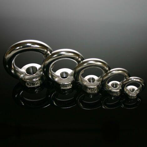 Ringmutter Edelstahl A2 DIN 582 Größe M6