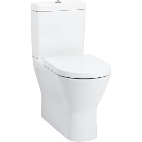 Rio Comfort Height Fully Back To Wall Toilet with Soft Close Seat