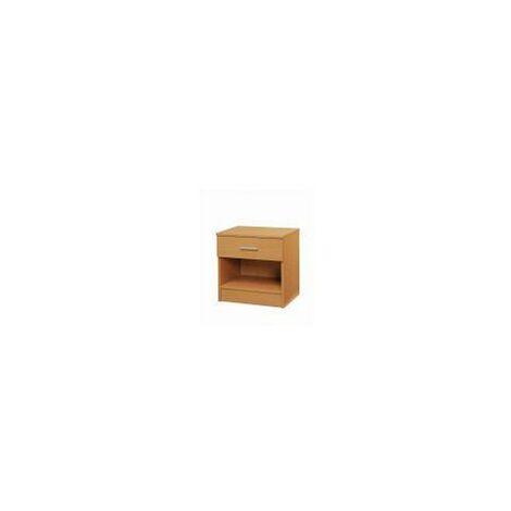 Rio Costa Bedside Cabinet Bedroom Furniture Nightstand Table 1 Drawer Beech Oak