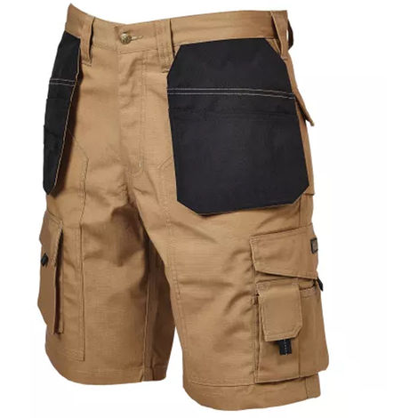 Rip-Stop Holster Shorts Stone