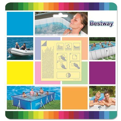 Riparazione piscina Bestway 62091 - Toppa