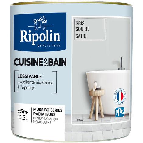 RIP.CUISINE BAIN SAT.0.5L BLANC (Vendu par 1)
