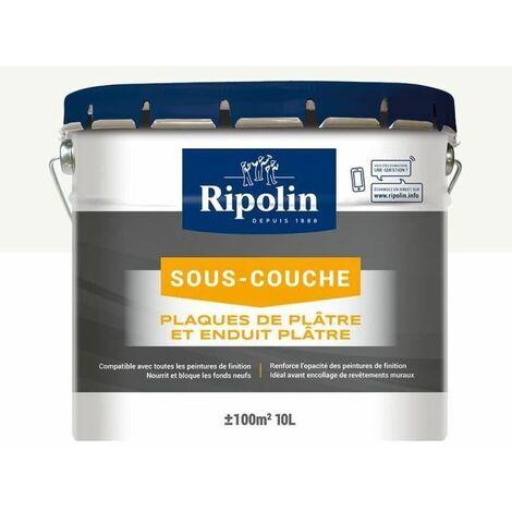 RIPOLIN SOUS-COUCHE PLAQUE DE PLÂTRE RIPOLIN - BLANC MAT, 10L